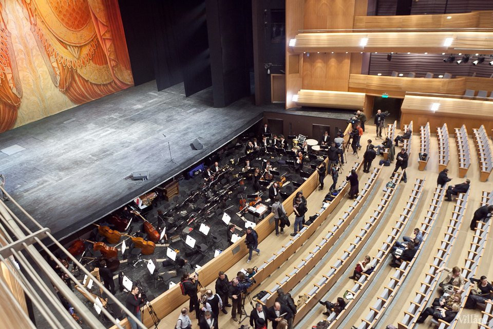 Фоторепортаж: Вторая сцена Мариинского театра изнутри. Изображение № 1.