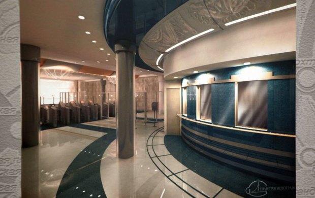 Вестибюль станции «Театральная» . Изображение № 5.