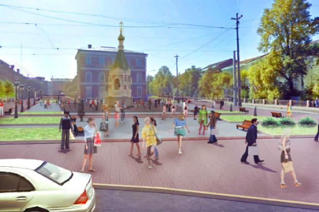 Проект развития района вокруг «Новой Голландии» . Изображение № 5.