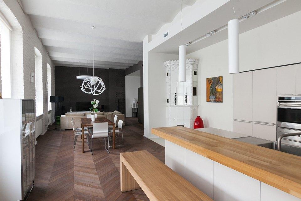 Квартира владельцев галереи Bulthaup наБольшой Конюшенной. Изображение № 8.