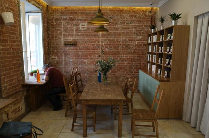 На Большой Бронной улице открылась кофейня Double B. Изображение № 1.