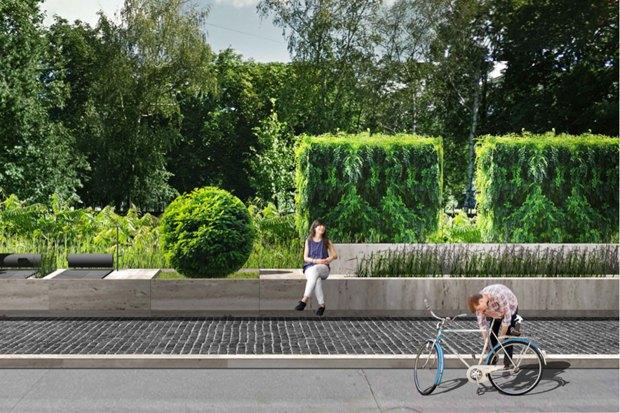 Как будет выглядеть обновлённый парк наРуставели. Изображение № 4.