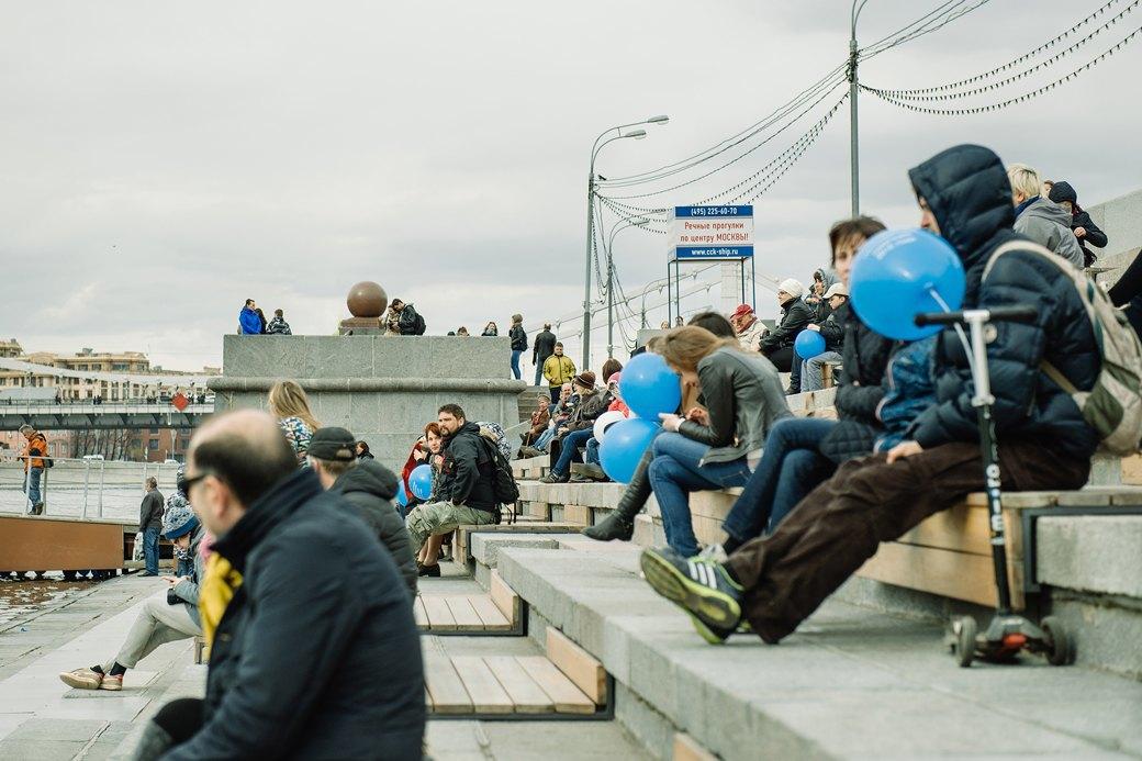 Как прошёл первый парад пассажирских теплоходов в Москве. Изображение № 17.