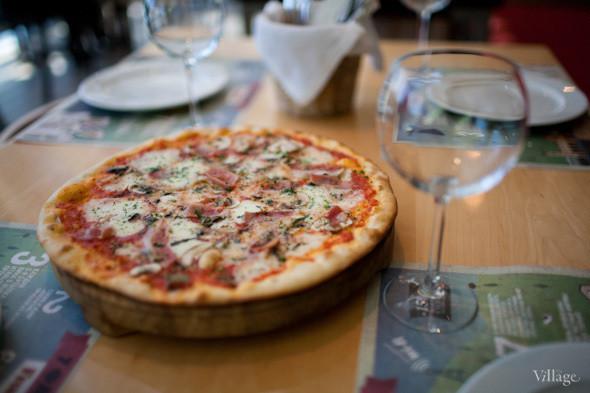 Пицца с ветчиной и грибами — 350 рублей. Изображение № 21.