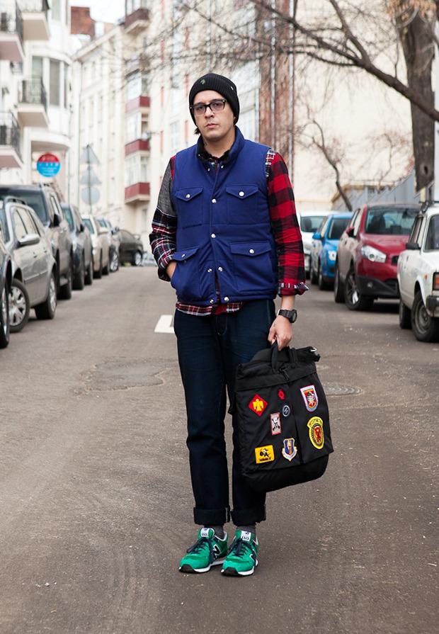 Внешний вид: Дмитрий Оскес, куратор исоорганизатор Faces&Laces. Изображение № 1.