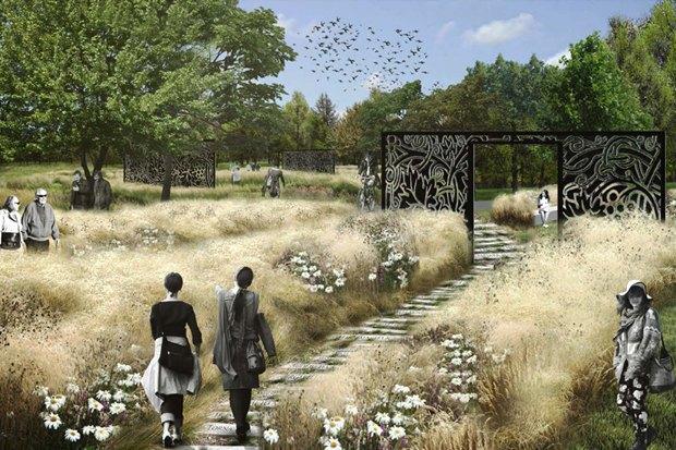 LDA Design представили проекты благоустройства парка «Садовники» и Сиреневого сада. Изображение № 1.