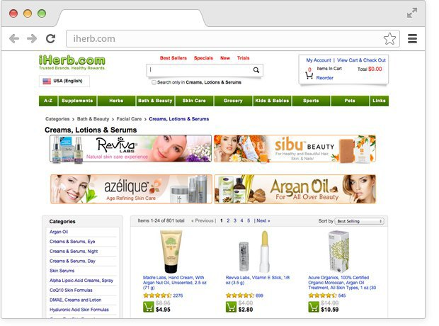 12 онлайн-магазинов косметики. Изображение № 6.