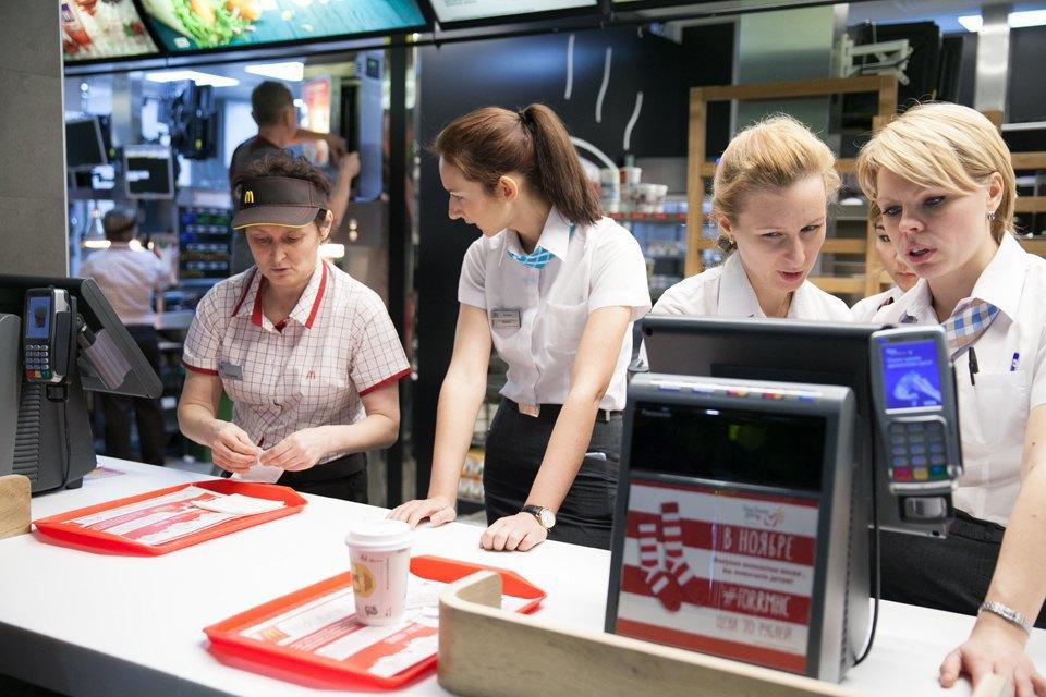 Вновь открывшийся «Макдоналдс» на «Пушкинской». Изображение № 8.