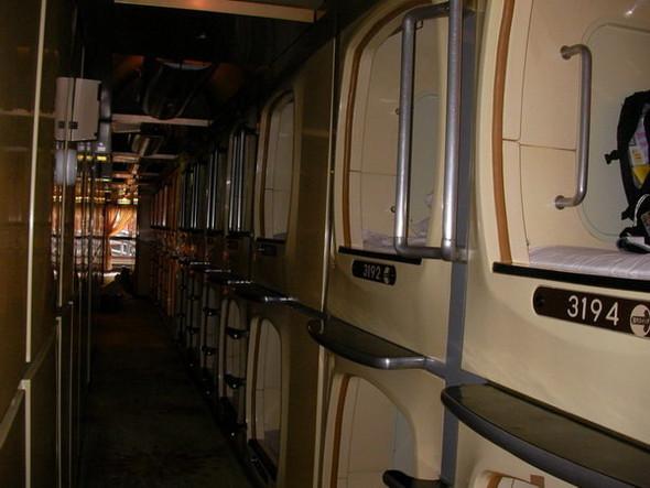 Капсульный отель в Японии. Изображение № 22.