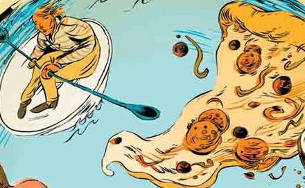 Иллюстрация к афише Фестиваля мировой еды. Изображение № 1.