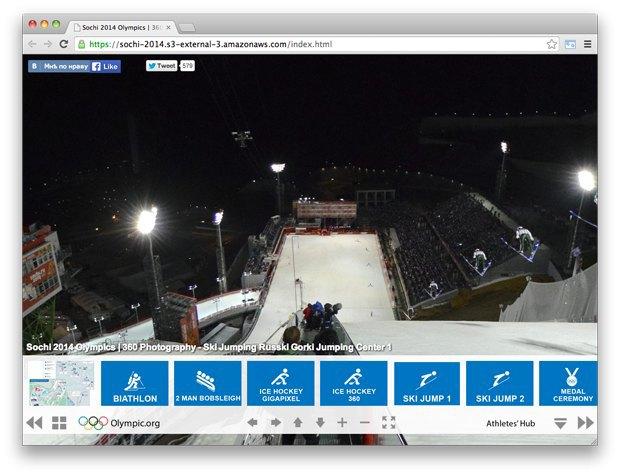 Спортивный номер LAM, настоящая работа независимых музыкантов и панорама Олимпиады . Изображение № 5.