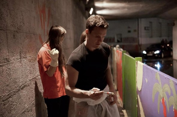 Добровольцы разукрасили туннель около «Винзавода». Изображение № 7.