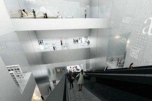 Три проекта нового здания ГЦСИ. Изображение № 3.