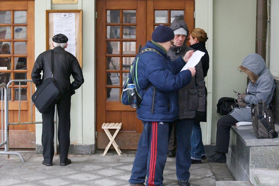 Люди в городе: Очередь вМХТ им.Чехова. Изображение № 3.