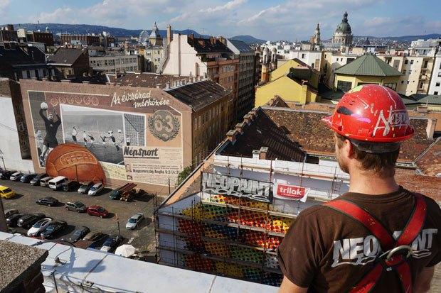 Граффити, изменившие улицы Колумбии, Франции, Турции иВенгрии. Изображение № 17.