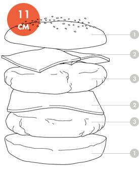 Между булок: Что внутри у самых больших московских бургеров, часть 2. Изображение № 43.