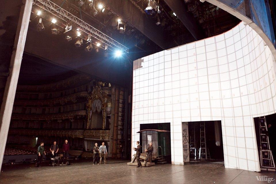 Фоторепортаж: Вторая сцена Мариинского театра изнутри. Изображение № 39.