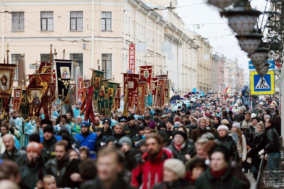 Фоторепортаж: День народного единства вПетербурге. Изображение № 3.