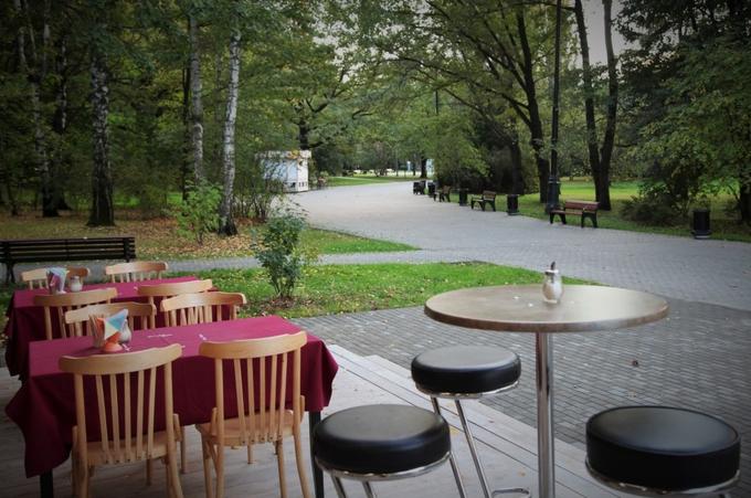 В Измайловском парке открылась кофейня GagaGagapella. Изображение № 2.