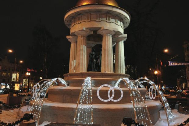 Великие луки: Как украсят Москву к Новому году. Изображение № 64.