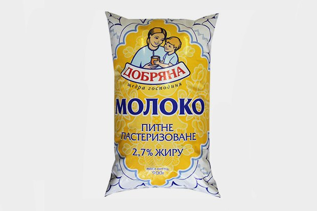 Молоко и молочная продукция  ТМ «Добряна». Изображение № 14.