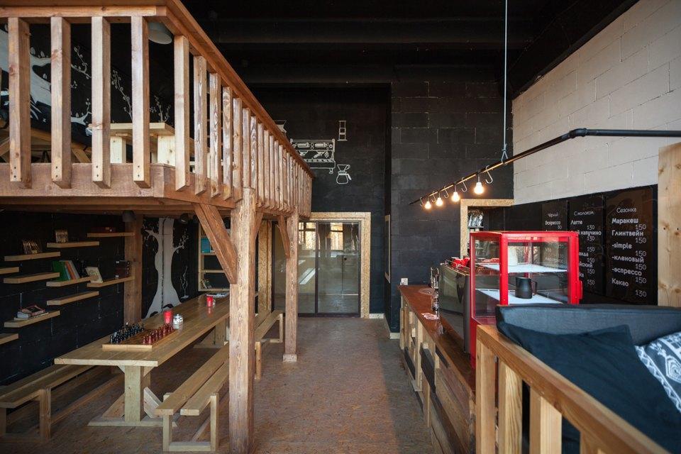 Кофейня Coffee3 влофте Contour . Изображение № 1.
