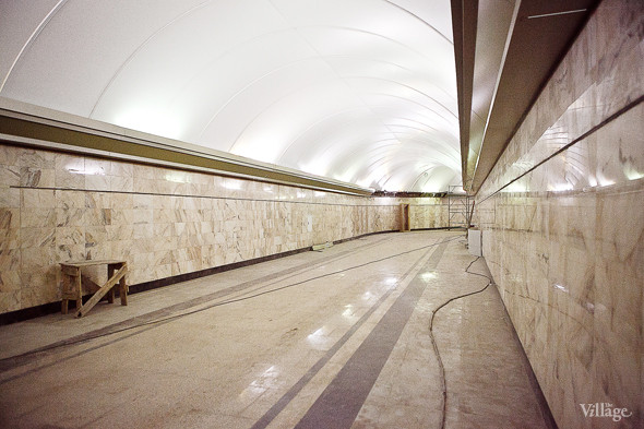 Фоторепортаж: Станция метро «Адмиралтейская» изнутри. Изображение № 4.