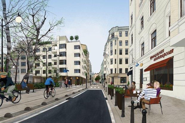 «Городские проекты» разработали проект реконструкции Малой Бронной улицы. Изображение № 3.