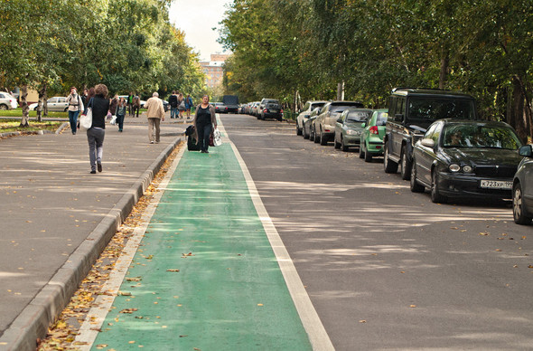Итоги недели: Велодорожки в Москве. Изображение № 5.