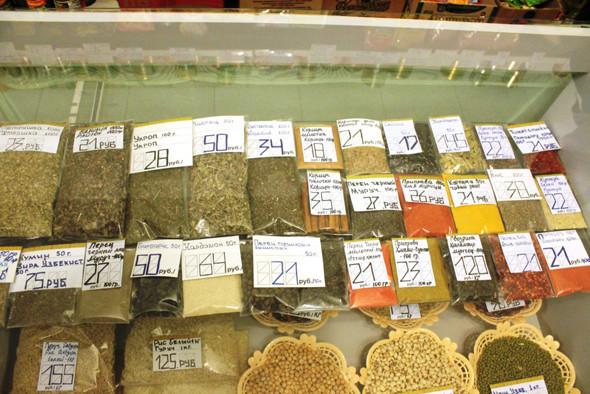 Основной узбекский товар — специи и сухофрукты. Изображение № 8.