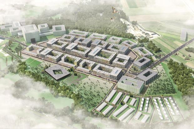 Проект планировки района «Южный» (D-1) инновационного центра «Сколково». Изображение № 1.