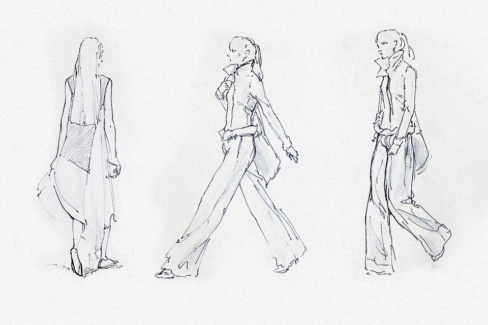 Клуб рисовальщиков: Показ мод. Изображение № 4.
