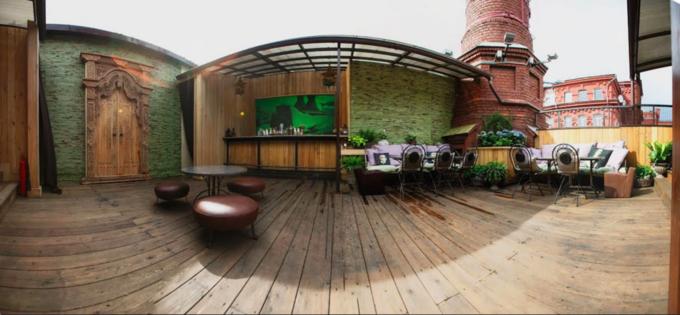 Фото предоставлены кафе Fantomas Rooftop. Изображение № 2.