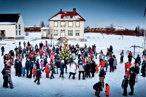 Дневник города: Рождество вРейкьявике. Изображение № 1.