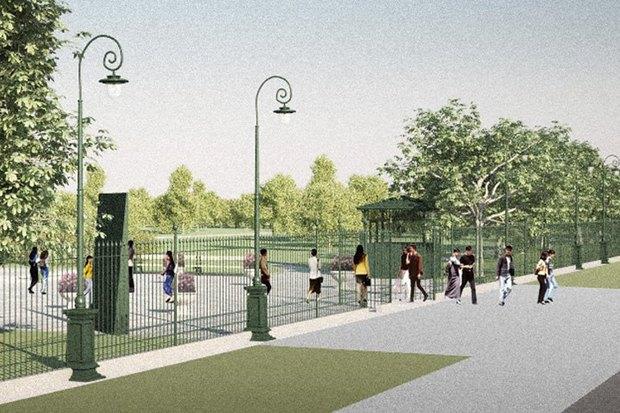 LDA Design представили проекты благоустройства парка «Садовники» и Сиреневого сада. Изображение № 7.
