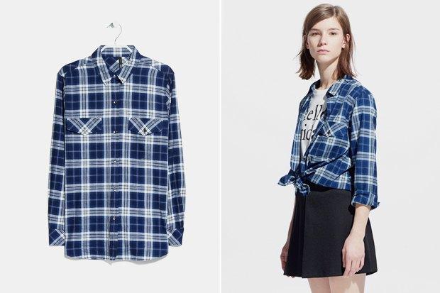 41598a0c6ea Где купить женскую рубашку в клетку  9 вариантов от одной до семи тысяч  рублей.