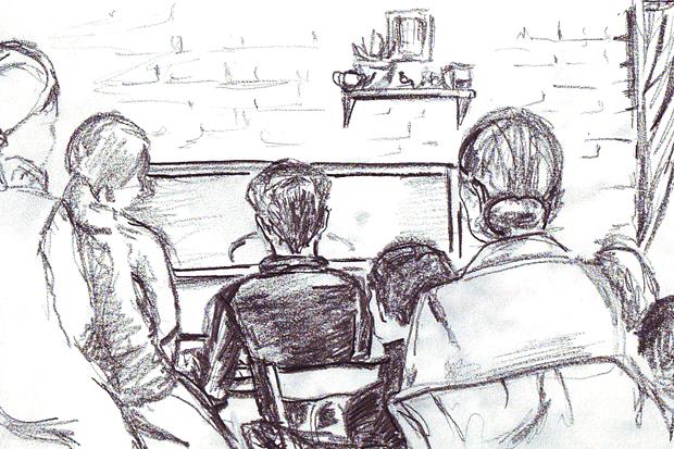 Клуб рисовальщиков: Музыканты. Изображение № 13.