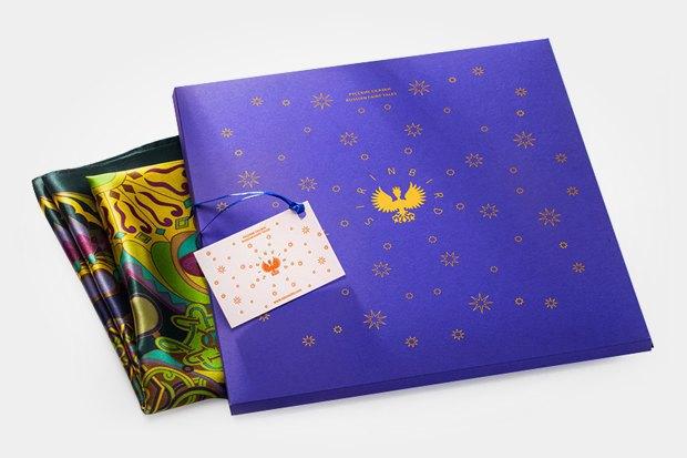 Платок из коллекции «Другая страна: Россия», 6000 рублей. Изображение № 8.