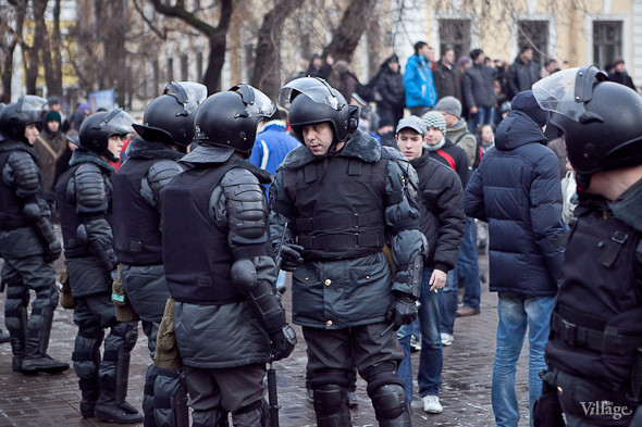 Фоторепортаж: Митинг против фальсификации выборов в Петербурге. Изображение № 16.