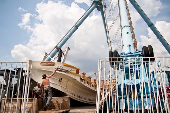 Аттракцион «Корабль мечты» стоил 150 рублей
