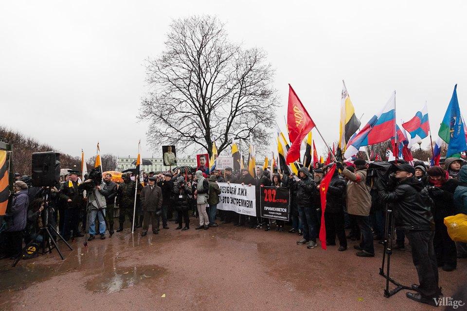Фоторепортаж: День народного единства вПетербурге. Изображение № 12.