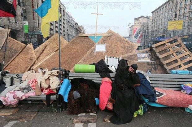 Работа со вспышкой: Фотографы — о съёмке на «Евромайдане». Изображение № 5.
