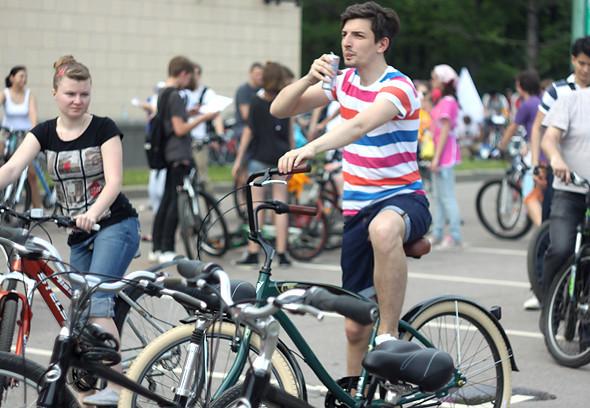 Велопарад Let's bike it!: Чего не хватает велосипедистам в городе. Изображение № 8.