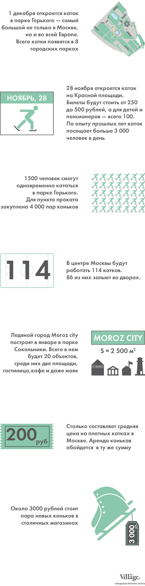 Итоги недели: Зимние катки в Москве. Изображение № 1.
