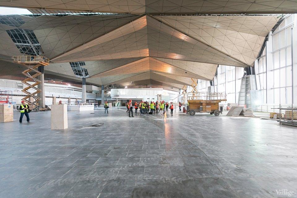 Фоторепортаж: Новый аэропорт изнутри. Изображение № 18.