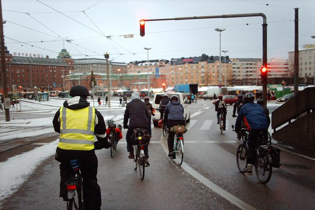 Консультант мэрии финского Оулу — о зимнем велодвижении. Изображение № 11.