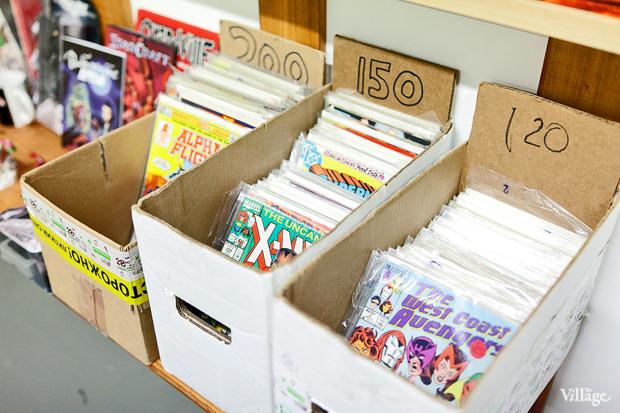 Раскадровка: 6 магазинов илавок с комиксами вПетербурге. Изображение № 7.