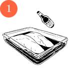 Рецепты шефов: Куриная грудка сперлотто и грибным соусом. Изображение № 3.