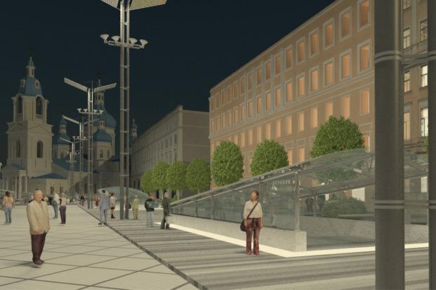 Проект преобразования Сенной площади. Изображение № 8.