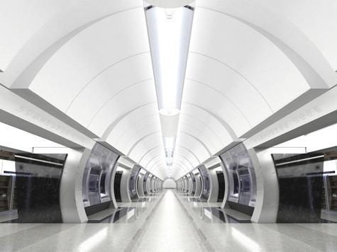 Изображение 1. Третий контур московского метро сделают непохожим на другие станции.. Изображение № 2.